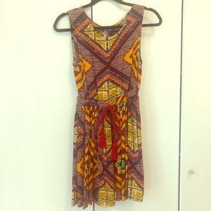 Minkpink geometric/tribal mini dress